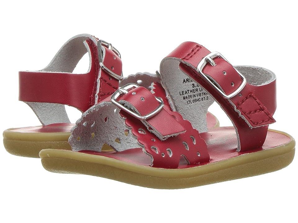 FootMates Ariel (Infant/Toddler/Little Kid) (Apple Red) Girls Shoes