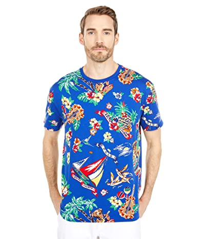 Polo Ralph Lauren Crew Neck T-Shirt (Heritage Royal Bearwaiian) Men