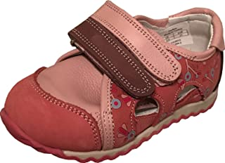 85b6e65aca PERLINA Girls Sandals Konya 1204-2 Turkish Orthopedic Leather Summer  Sandals with Arch Support