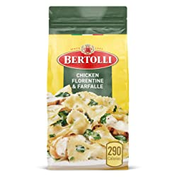 Bertolli Chicken Florentine & Farfalle Frozen Meals in a Rich White Wine & Parmesan Sauce, 22 oz.