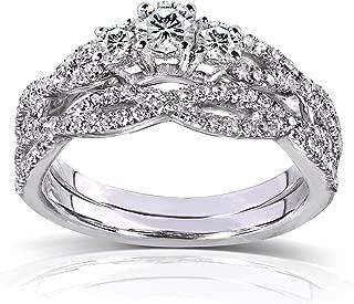 Best round diamond bridal sets Reviews