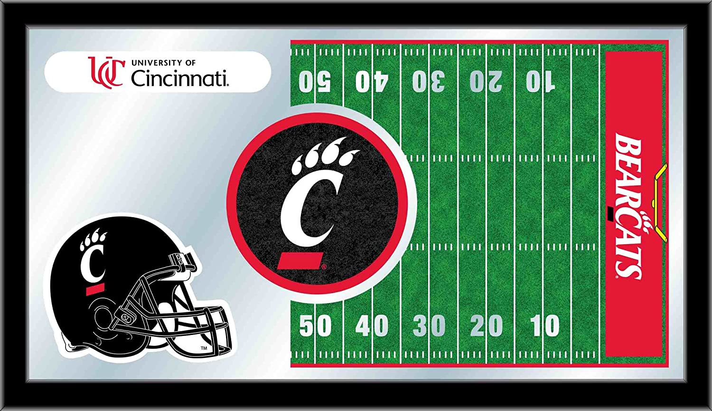 Holland Bar Stool NCAA Cincinnati Bearcats 15 x 26-Inch Football Mirror
