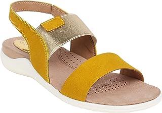 Catwalk Women's Yellow Fashion Sandals