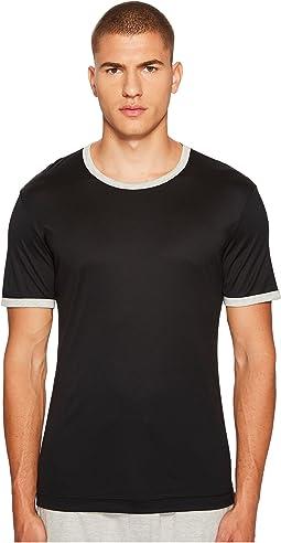 Dolce & Gabbana - Modal Silk Crew Neck T-Shirt