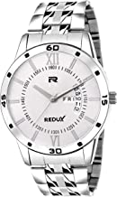 Redux White Dial Day and Date Functioning Men's Watch RWS0250S