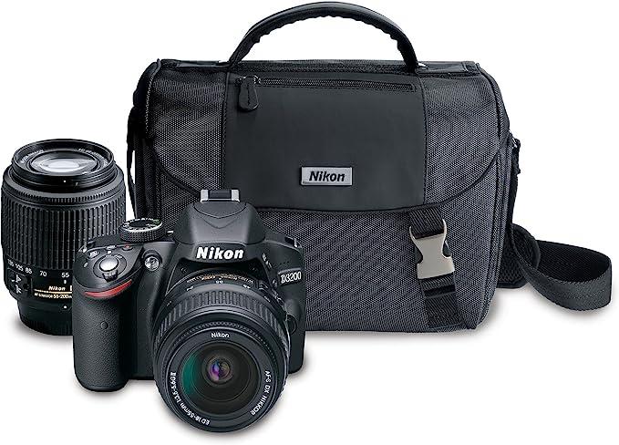 Nikon d3200 24mp digital espejo reflex cámara DSLR body del comerciante