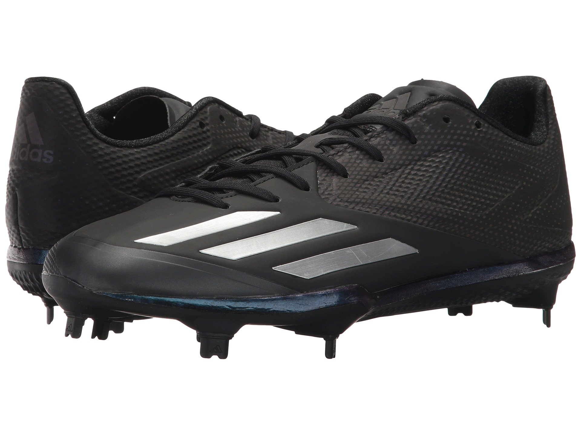 new product 25ff6 3b963 ADIDAS ORIGINALS ADIZERO AFTERBURNER 3 XENO, BLACKSILVER METALLICSILVER  METALLIC