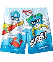 Dolce & Gabbana Kids - D&G Sea Swim Trunks (Big Kids)