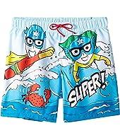 Dolce & Gabbana Kids - D&G Sea Swim Trunks (Big Kids)