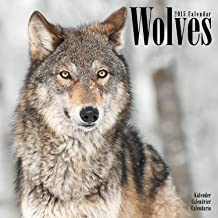 Wolves Calendar - 2015 Wall calendars - Animal Calendar - Monthly Wall Calendar by Avonside