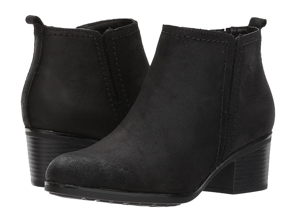 Rockport Danii Side Zip (Black Leather) Women