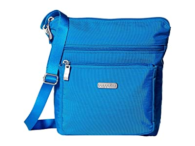Baggallini Legacy Crossbody Bag w/ RFID Wristlet (Director Blue) Cross Body Handbags