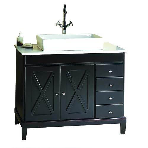 Pleasant 40 Inch Bathroom Vanities Amazon Com Download Free Architecture Designs Scobabritishbridgeorg
