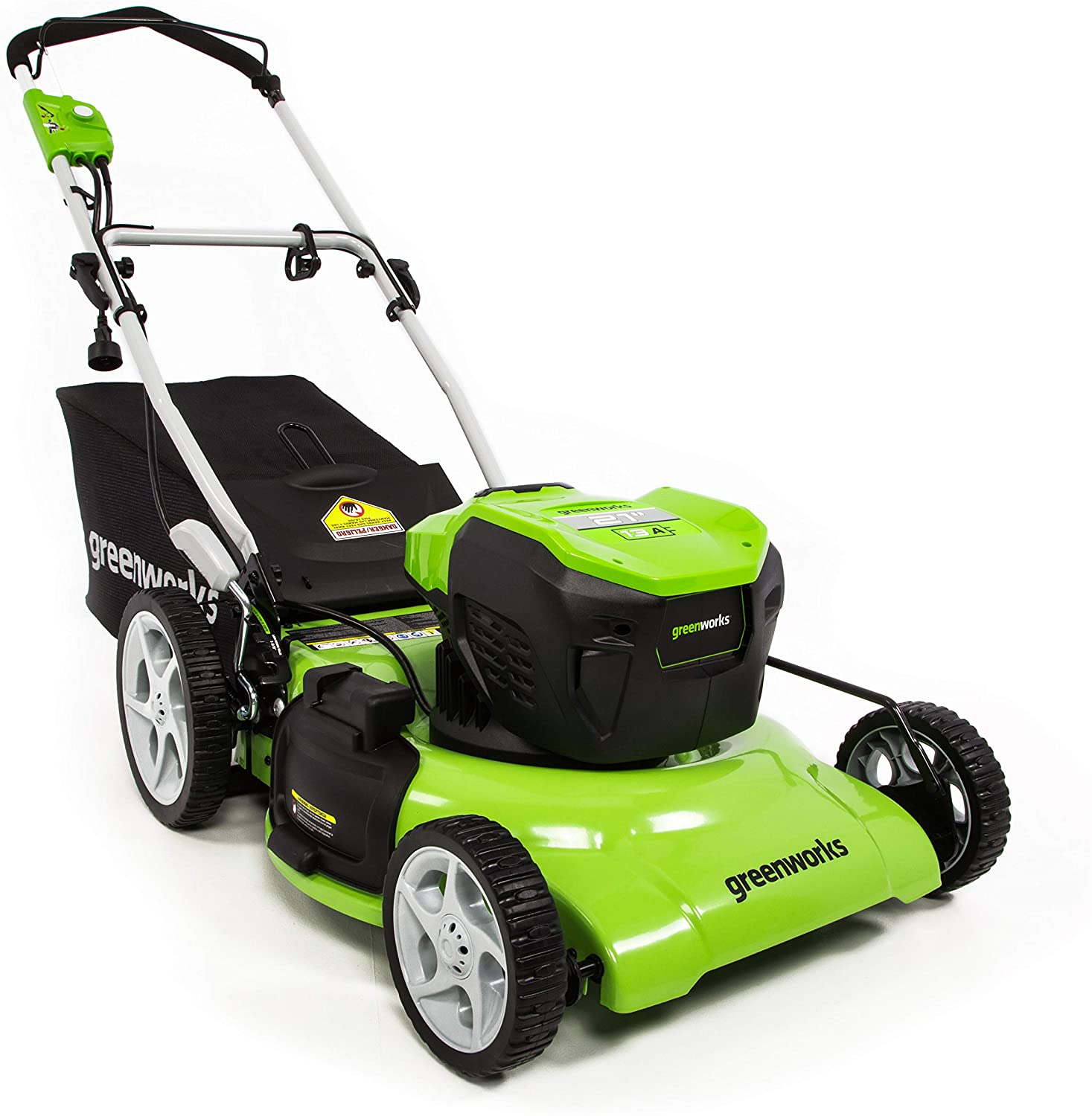 Greenworks 21-Inch 13 Amp Corded Lawn Mower