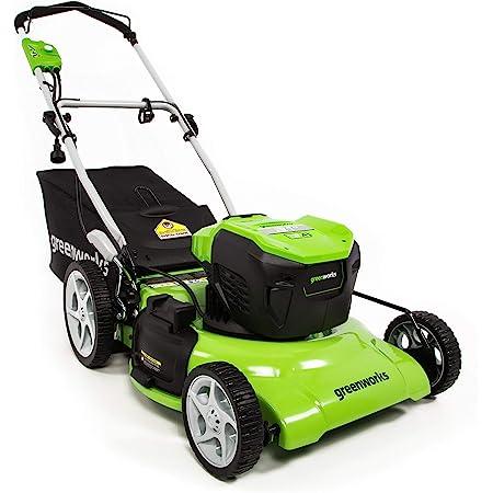 Greenworks 13 Amp 21-Inch Electric Lawn Mower, MO13B00