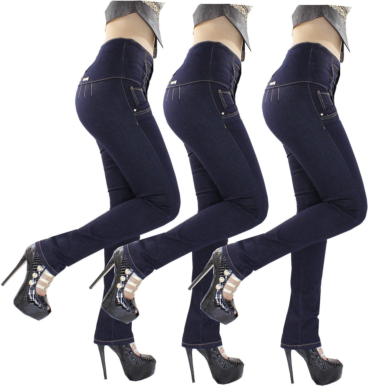 High Waist bluee Jeans Butt Lift Súper Push Up Skinny Jeans