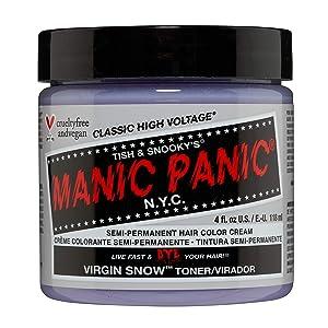 Manic Panic Virgin Snow Hair Toner
