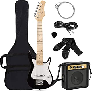 Best Best Choice Products 30in Kids Electric Guitar Beginner Starter Kit with 5W Amplifier, Strap, Case, Strings, Picks - Black Review