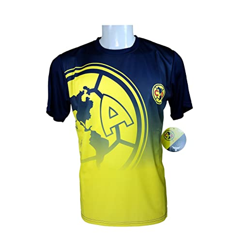 30bd6bc6e72 Club America Soccer Official Adult Soccer Training Performance Poly Jersey  P003