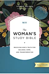 NIV, The Woman's Study Bible, Full-Color: Receiving God's Truth for Balance, Hope, and Transformation Kindle Edition