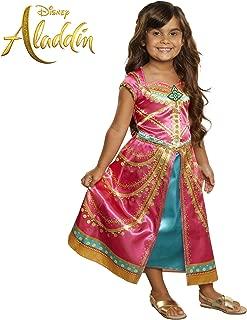 Aladdin Disney Jasmine Dress Costume Pink Fuchsia Outfit