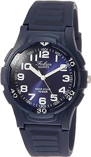 [シチズン キューアンドキュー]CITIZEN Q&Q 腕時計 アナログ falcon スポーツ ウレタンベルト ネイビー VS18-002 メンズ
