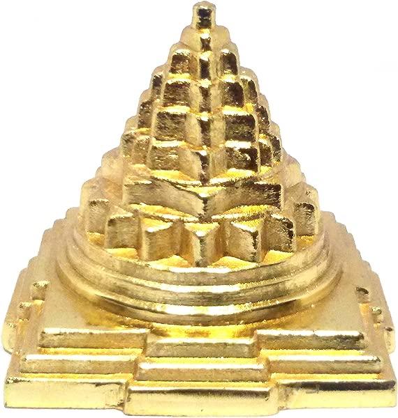 Metal Shree Yantra Or Laxmi Yantra To Attract Wealth