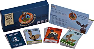 Goatfish - The Hilarious Goat-Herding Card Game - Party Game for 2-5 Players, Fun for Adults, Kids and Families