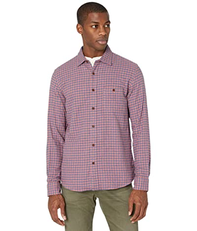 Faherty Stretch Seaview Flannel (Blue Rose Gingham) Men