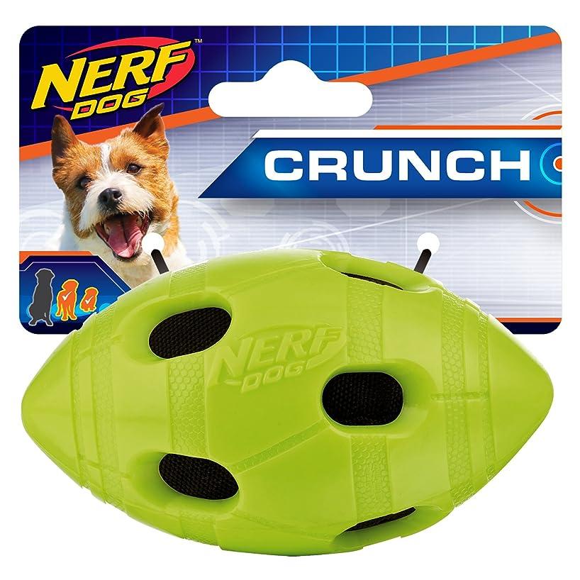 Nerf Dog TPR Squeak Bash Crunch Ball Dog Toy