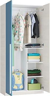 Habitdesign 0A7437Y - Armario Juvenil 2 Puertas, Color