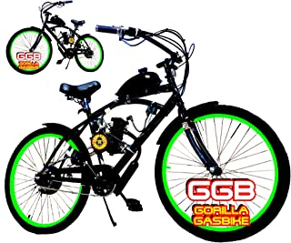 Complete 2-Stroke 66CC/80CC Motorized Bike KIT with 26