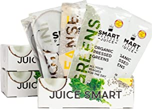 3-Day Organic Juice Cleanse Weight Loss | Smart Pressed Juice | Detox Shake Health Program | Cold-Pressed Green Juice | Beets Chia Fiber Protein Celery | MADE IN USA