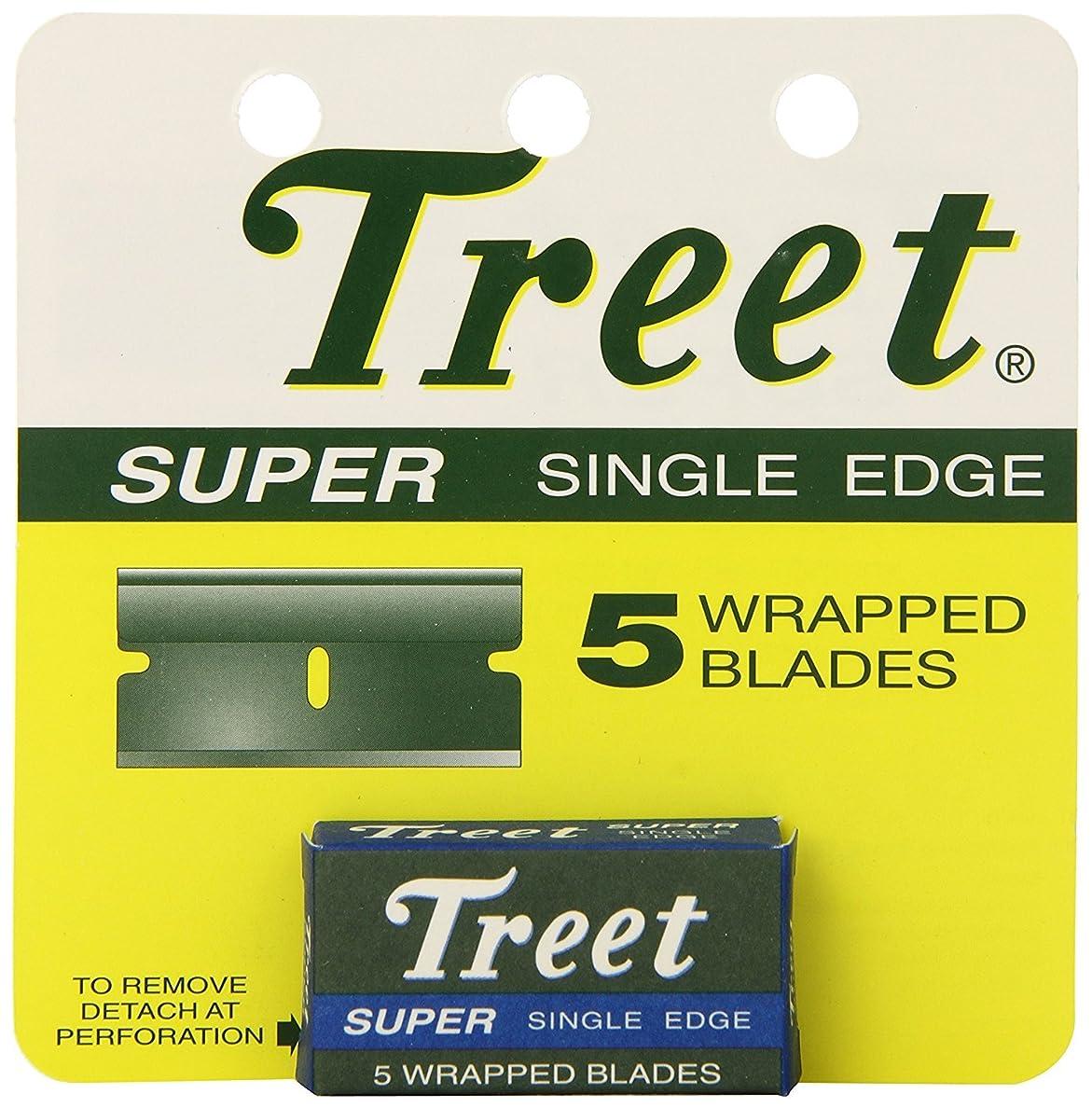 広々とした少し電気Treet スーパー シングル ブレード 替刃 5枚入り [並行輸入品]