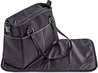 Hauck City Bag with Changing Mat - Black, 1 of Piece