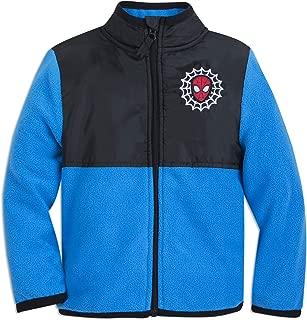 Marvel Spider-Man Pieced Fleece Jacket for Kids - Multi