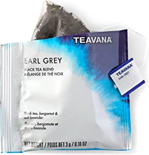 Teavana Earl Grey Full Leaf Sachets, Pack of 12
