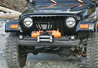 Cascadia 4x4 Flipster V2 - Winch License Plate Mounting System - Hawse/Roller Fairlead Compatible - Made in USA/Canada