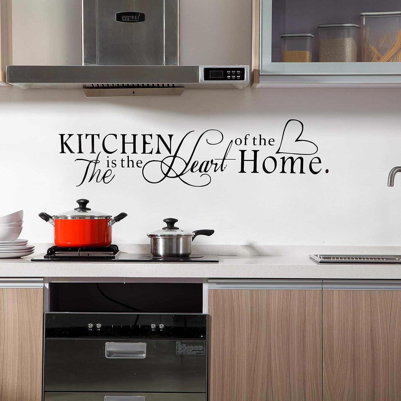 OOTSR Vinilos de Cocina, Pegatinas Decorativas, Vinilo Cocina, Pegatinas de pared para Cuartos, Dormitorio, Cocina