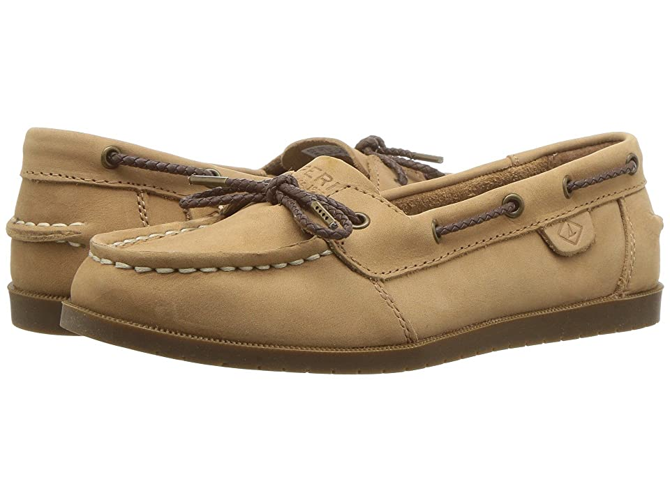 Sperry Kids A/O 1-Eye (Little Kid/Big Kid) (Sahara Leather) Girls Shoes