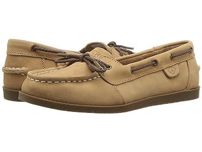 Sperry Kids A/O 1-Eye (Little Kid/Big Kid) (Sahara Leather) Girls Shoes