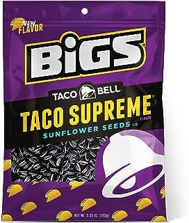 BIGS Taco Bell Taco Supreme Sunflower Seeds, Keto Friendly, 5.35-oz. Bag