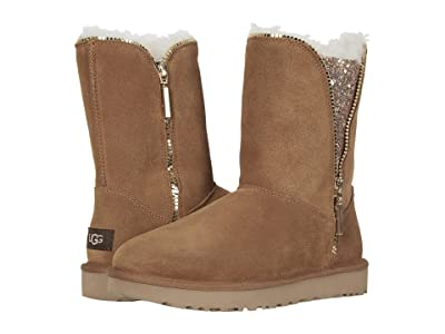 UGG Classic Zip Boot (Chestnut) Women