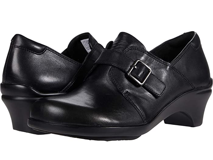 Aravon Stridarc Monk (Black) Women's Shoes