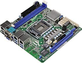 ASRock Rack E3C232D2I LGA1151/ Intel C232/ DDR4/ SATA3USB3.1/ V&2GbE/ Mini-ITX Server Motherboard