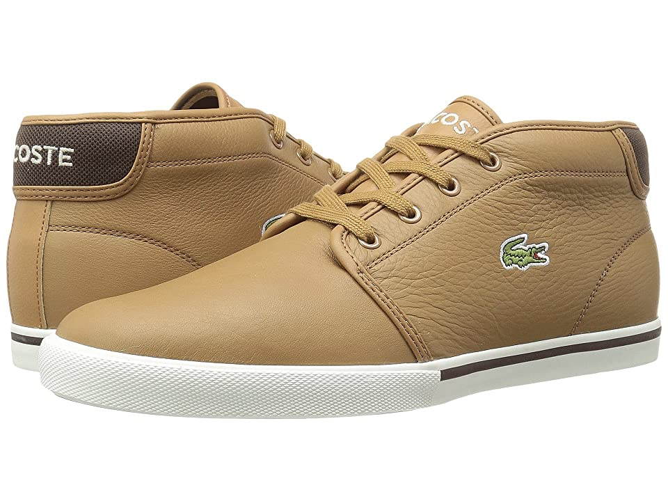 Lacoste Ampthill 118 2 (Light Brown/Off-White) Men
