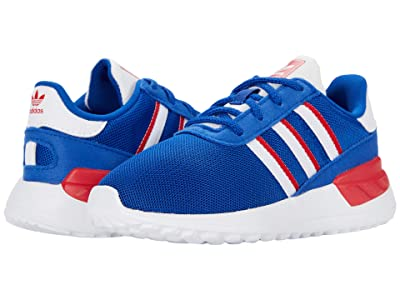 adidas Originals Kids LA Trainer Lite EL I (Toddler) (Team Royal Blue/Footwear White/Scarlet) Boys Shoes