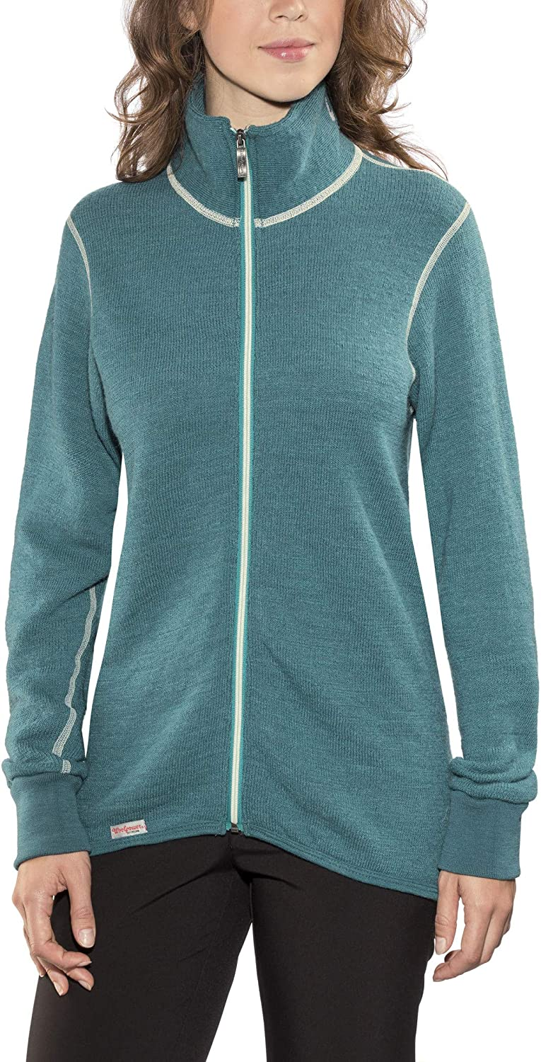 Woolpower 400 Colour Collection Jacket teal 2019 winter jacket