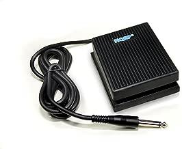 HQRP Foot Switch works with Alesis SR-16 SR-18 Drum Machine Damper Sustain Pedal