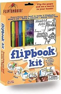 Fliptomania Flipbook Animation Kit: Noah's Ark, David & Goliath